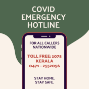 Covid hotline numbers